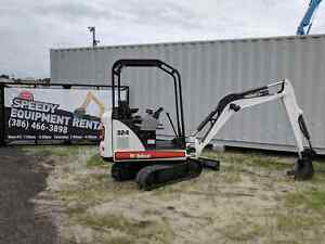 Bobcat 324 Mini Excavator 2011 Low Hours