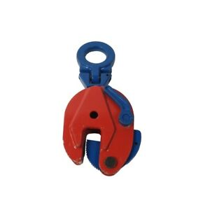 0 8t 2t Industrial Vertical Plate Lifting Clamp Stable 180 rotation Lift