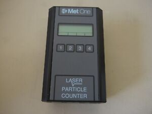 Met One 227a Handheld Laser Particle Airborne Cleanroom Counter Monitor Sensor