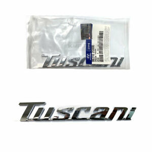 Oem Genuine Parts 863102c000 Tuscani Word Emblem For Hyundai 2003 2008 Tiburon