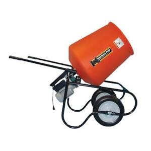 Kushlan Products 350dd 3 5 Cf 3 4 Hp Direct Drive Cement Mixer