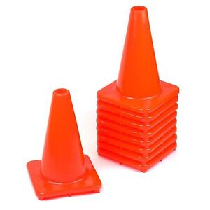 Rk Pvc Traffic Safety Cone 12 Inch Construction Safety Cones orange