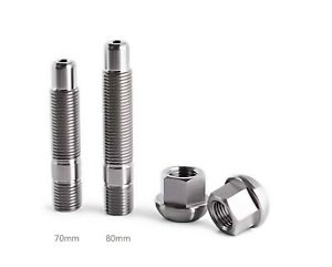 Porsche Titanium Wheel Stud Nut Kit 911 Boxster Cayman Macan 718 Turbo