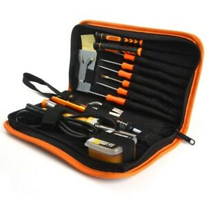 16 In 1 Stainless Steel Electric Soldering Iron Flux Kit Diy Welding Tool Sets