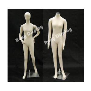 Adult Female Flexible Full Body Mannequin Form With Removable Head And Arms