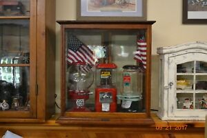 Vintage Antique General Country Store Mercantile Antique Countertop Display Case