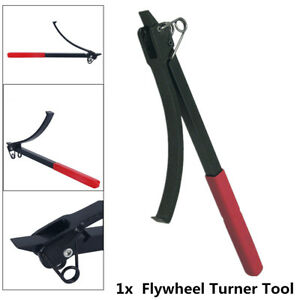 Portable Flywheel Turner Turning Tool Holder Wrench Clamps Flexplate Turner Tool