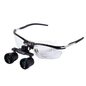2 5x 3 5x Dental Medical Binocular Loupes Aluminum Variable Loupes