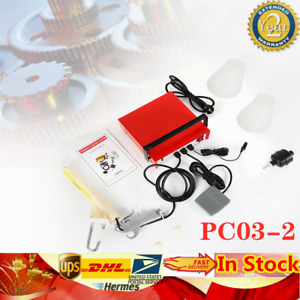 Pc03 2 Red Powder Coating System Portable Electrostatic Spray Paint Gun 0 03amps