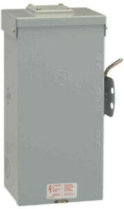Ge Emergency Power Transfer Switch 200 amp 240 volt 1 phases Non fused Manual
