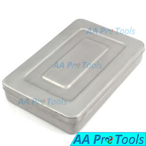 Surgical Medical Instruments Box 30x20x5 Cm Stainless Steel High Quality