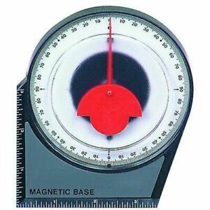 Dial Magnetic Base Angle Degree Finder Protractor Gauge Gage Indicator