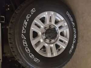 Ford F350 250 Superduty Aluminum Rims And Tires 18