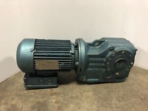 Sew Eurodrive Ka47tdt80m4 Gear Motor 56 83 Ratio 1 Hp 1700 Rpm