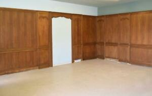 45 Feet Of Antique Vintage French Boiserie Paneling Wainscoting In Oak Wood