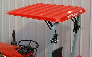 Sun Guard Tractor Mower Canopy Sunshades Fits All 2 Post Rops Up To 46 1 2