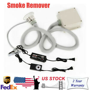 White Soldering Smoke Absorber Strong Smoke Remover Fume Extractor Adjustable