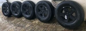 17 Jeep Wrangler 2007 17 Oem Wheels Rims Tires Used In Excellent Condition