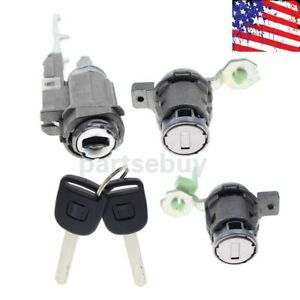 Door Lock Cylinder Ignition Switch For Honda Civic Crv S2000 Element 1 7 2 4l
