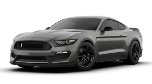 2019 Ford Mustang Shelby Cobra Gt350 Cutout Garage Steel Sign 23 X 10 Gray