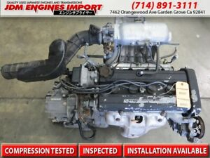Jdm 1997 2001 Honda Crv B20b Engine Transmission Obd2 Integra Civic B20 B20z B