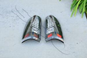 Clear Lens Led Tail Lights Lamps For 1999 2006 Gmc Sierra 2500 2500hd L