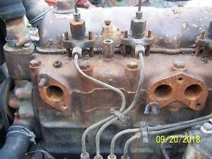 David Brown 1210 Tractor 1 2 Injection Lines