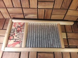 Vintage Wood Washboard Antique Farmhouse Primitive Columbus Co