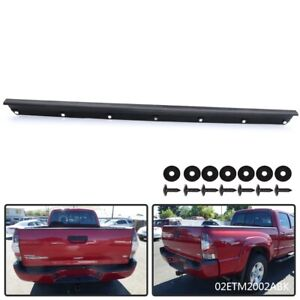 Tailgate Cover Molding Top Cap Protector Abs Fit For 2005 2015 Toyota Tacoma