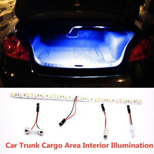 Hid Bright Blue 18 Smd Led Strip Light Car Trunk Cargo Fit Honda Civic Accord