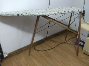 Nice Vintage Antique Wooden Folding Ironing Board From Early 1930 S