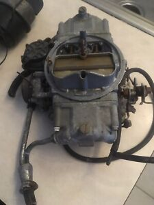 Holley Street Avenger Hp 670 Cfm Carburetor Carb 80670 Strip Drag Race