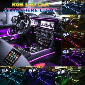 Car Led Strip Light Music Rgb Neon Accent Lights 5 In 1 With 6 Meters 236 22