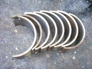 Vintage Ji Case Sc Tractor engine Rod Bearings 20 1949