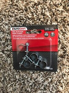 Auto Craft Fuel Injection Hose Clamps Ac52f13v