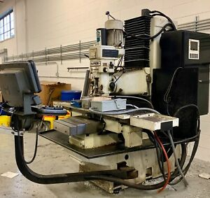Hurco Hawk 40 dsm Vertical Cnc Milling Mach free Shipping 500miles From Chicago