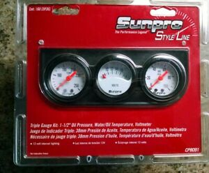 Sunpro Triple Gauge Kit   OEM, New and Used Auto Parts For