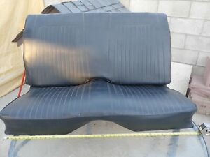 1968 1967 1969 Chevy Camaro Convertible Or Deluxe Rear Seat Original Gm Used
