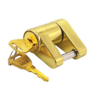 Trailer Hitch Coupler Lock Towing Receiver Locking Boat Tow Latch Tongue Pin Car