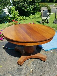 Hastings Table 48 Round Pure Oak