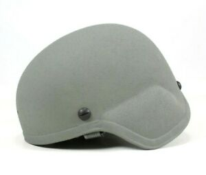 Advanced Combat Helmet Small ACH 1-Hole MICH Helmet w Pads Foliage Green BAE