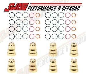 94 5 03 Ford 7 3 7 3l Powerstroke Diesel Fuel Injector Sleeve O ring Seal Kit