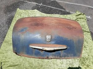 Auto Parts 1951 Ford Shoe Box Trunk Lid Fair Condition