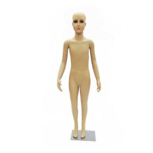 Realistic Kids Mannequin 7 8 Year Old Plastic Mannequin With Base And Wig