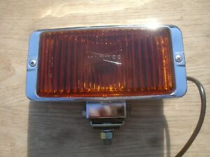 Vintage Yankee Amber Fog Driving Light Sae F5 Ympc 61a New old stock