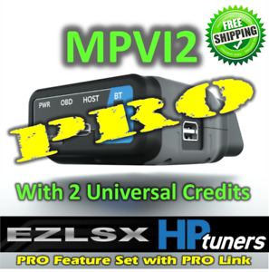 Hp Tuners Mpvi2 Vcm Suite With Pro Features 2 Credits Free 25 Ebay Gift Card