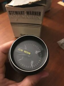 Nos Stewart Warner 283 f Vacuum Gauge Kit Hard To Find