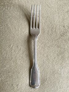 Antique Solid Silver Paul Storr Table Fork Fiddle Thread Pattern London