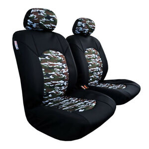 Car Seat Covers Waterproof Wetsuit Neoprene Front For Toyota Tacoma Tundra Trd