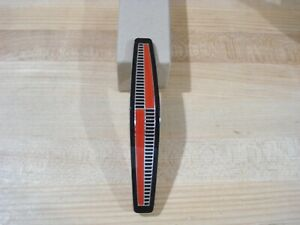 New Reproduction 1965 Plymouth Belvedere Red Black Grille Emblem